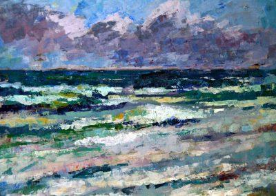 Abstracte golven