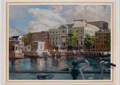 Royal Theatre Carre geschildert