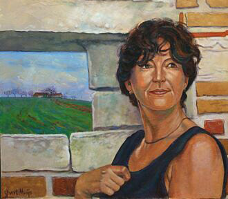 Vrouwenportret Govert Muijs