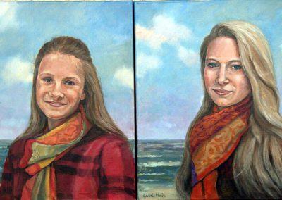 portrert-zusjes